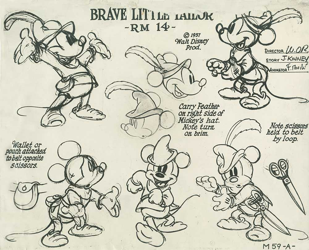 Kimbal Mickey Mouse  mickmodel1. Mickey Mouse   Model Sheets   Traditional Animation