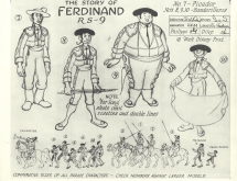 FerdinandTheBullModelSheet7