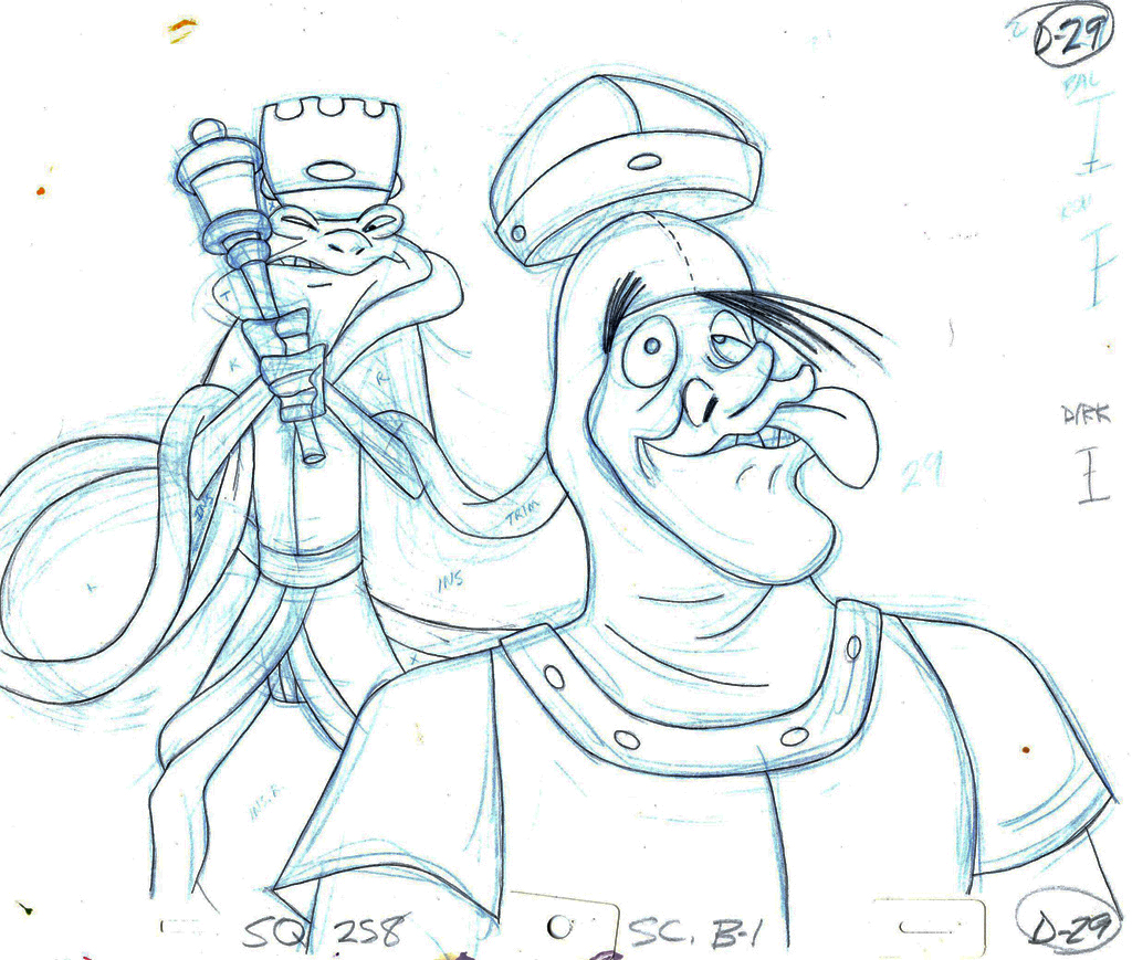 Cartooning Character Design Sherm Cohen Pdf : Th anniversary of dragon s lair don bluth exclusive