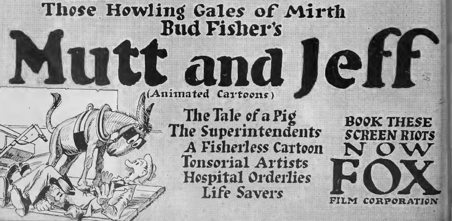Mutt and Jeff: The Original Animated Odd Couple | Traditional Animation