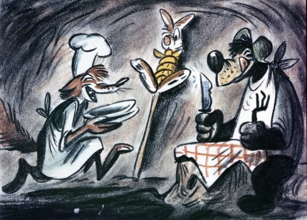 Bill Peet Song of the South Storyboard