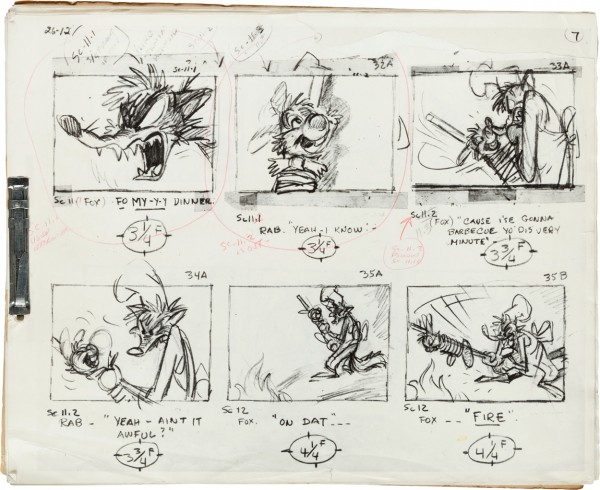 Song of the South Storyboard