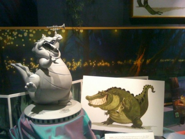 Princess and the Frog Display