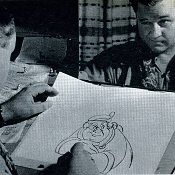 Disney Animator Charles 'Nick' Nichols