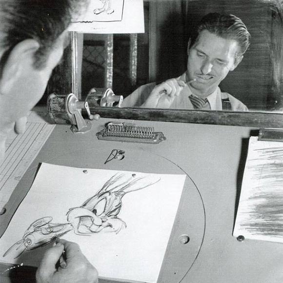 Warner Bros. Cartoons Animator Ken Harris