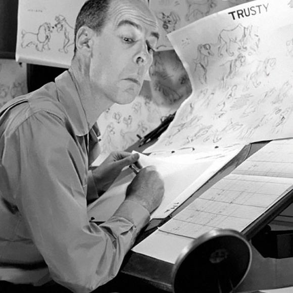 Disney Animator Ollie Johnston