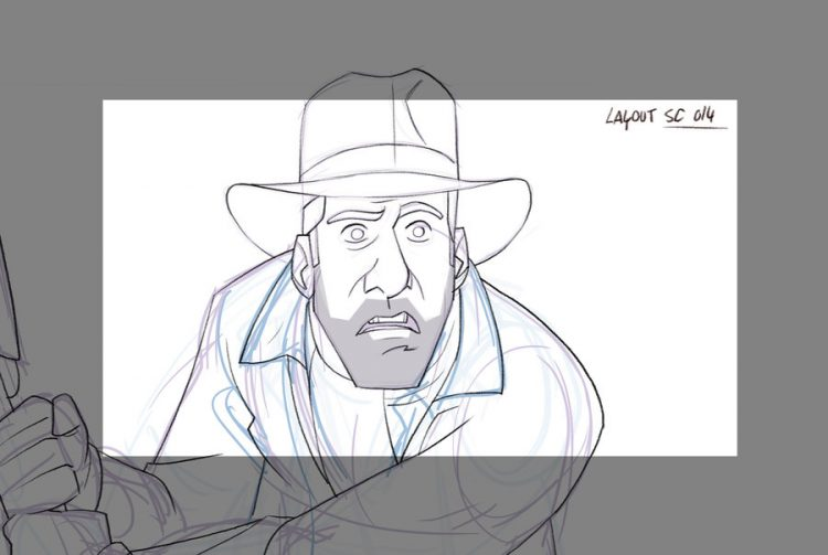 The Adventures of Indiana Jones - Layout
