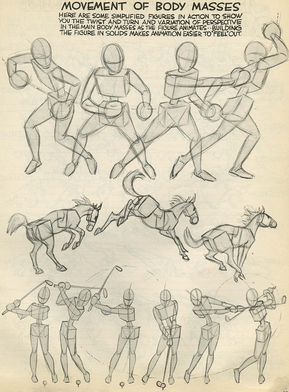 2d Character Design Pdf : Advanced animation by preston blair traditional