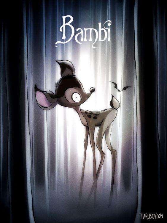 TimBurton-Bambi