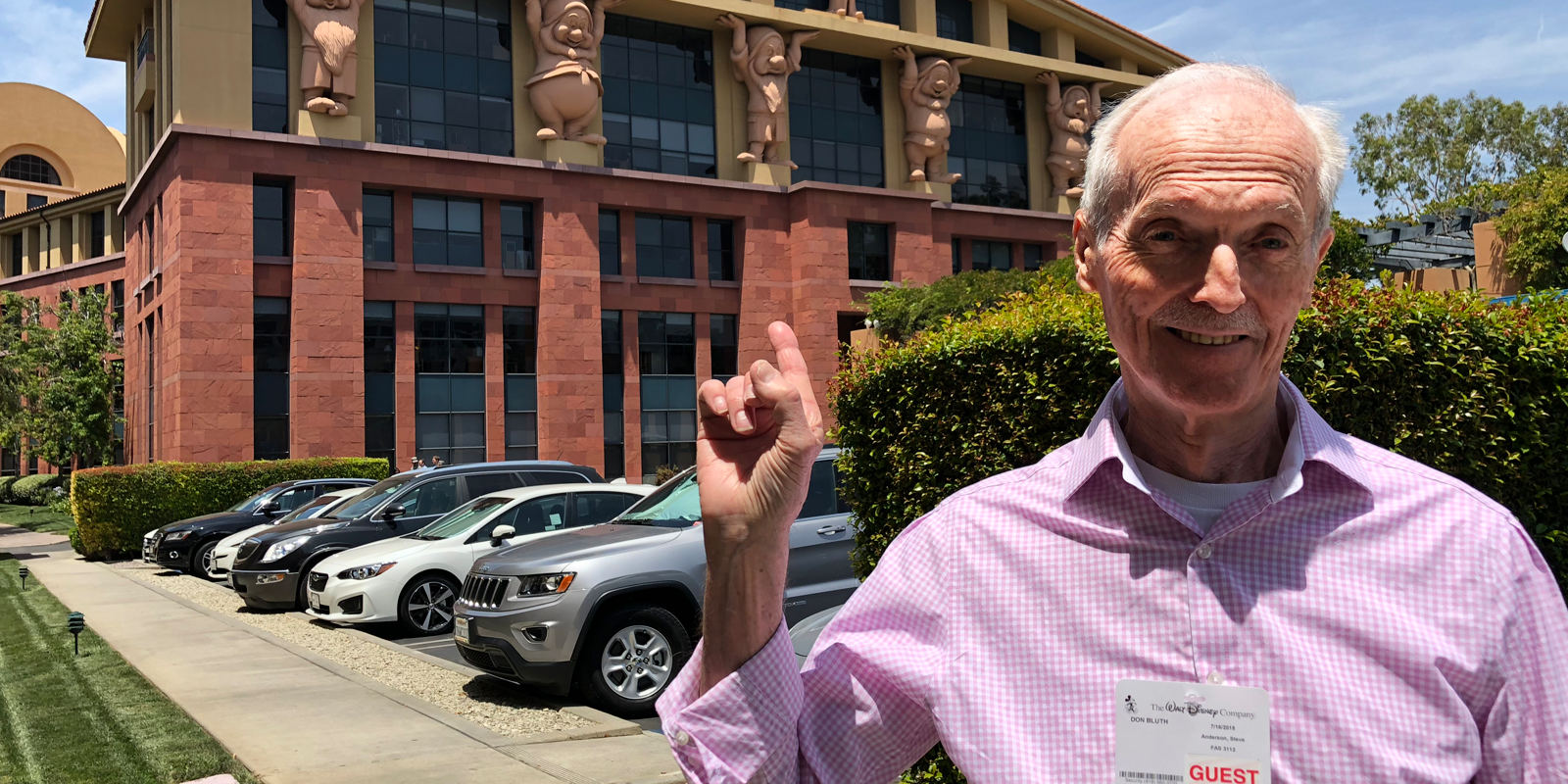 Don Bluth Returns to Walt Disney Animation Studios After 40 Years