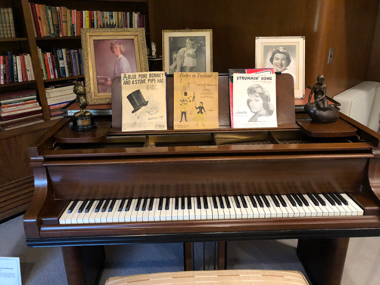 Walt's Office Piano