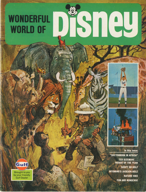 Wonderful World of Disney - Cover