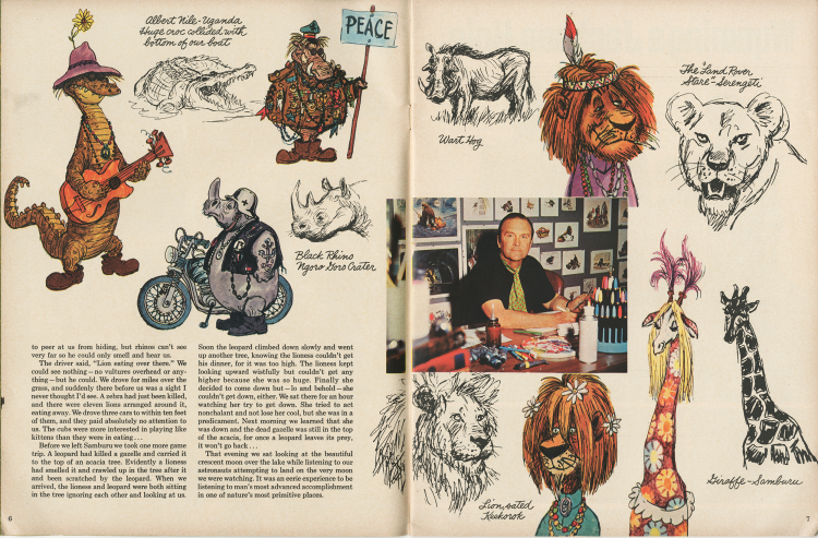 Wonderful World of Disney - Ken Anderson Sketchbook Pg 5 & 6
