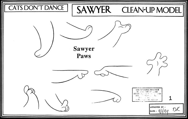 CatsDontDanceModelSheet101