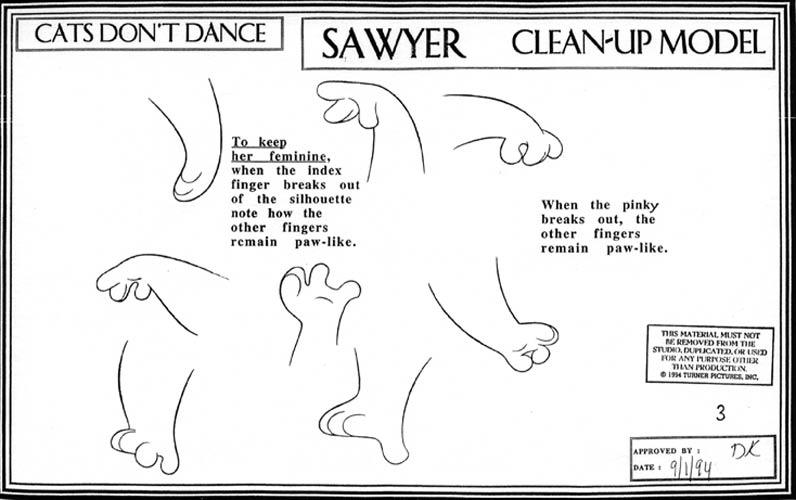 CatsDontDanceModelSheet103