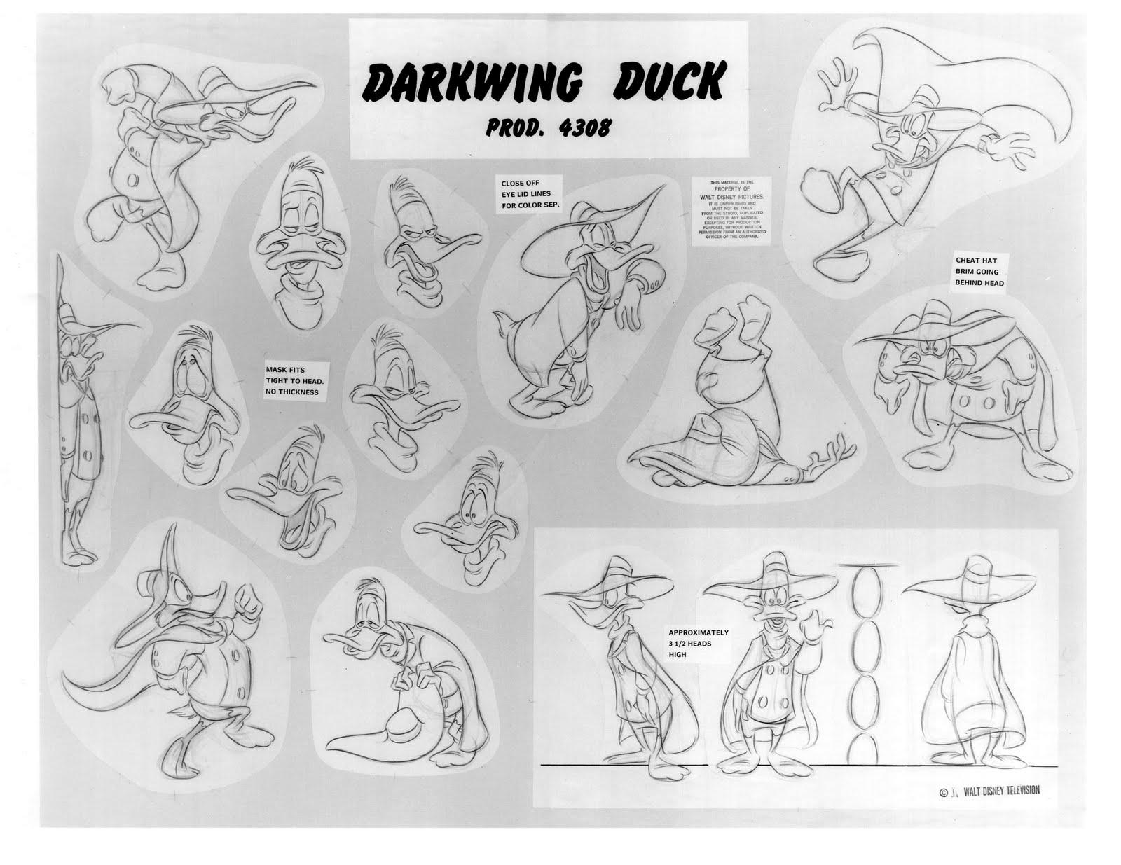 DarkwingDuckModelSheet1