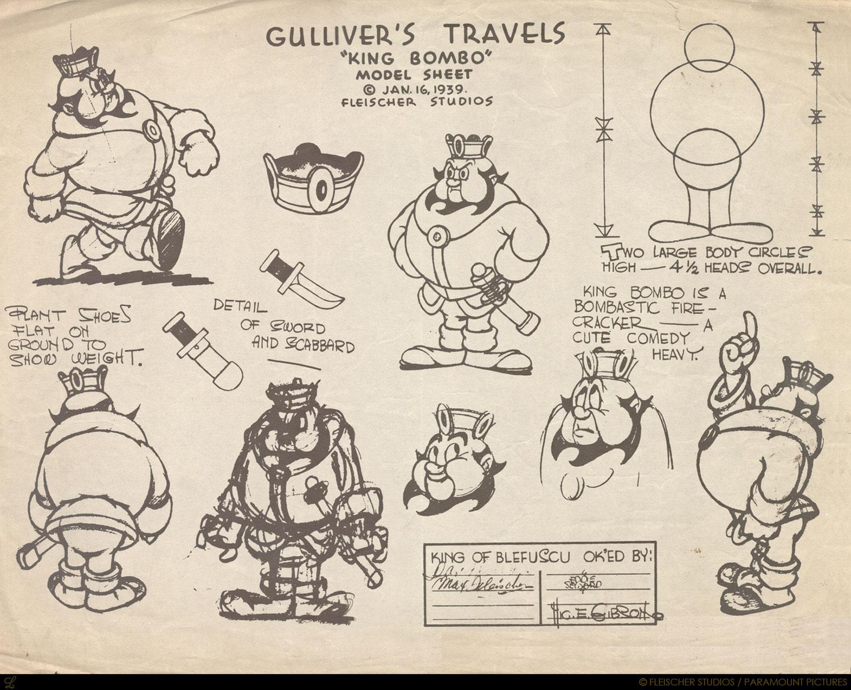 GulliversTravelsModelSheet9