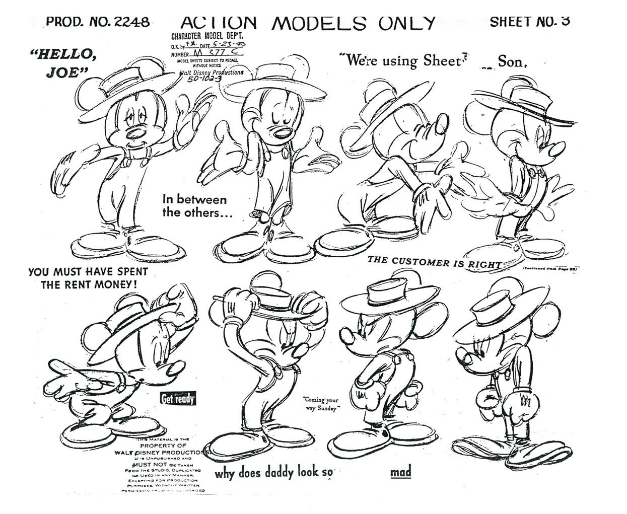 Kimbal Mickey Mouse
