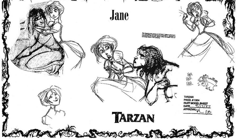 TarzanModelSheet12