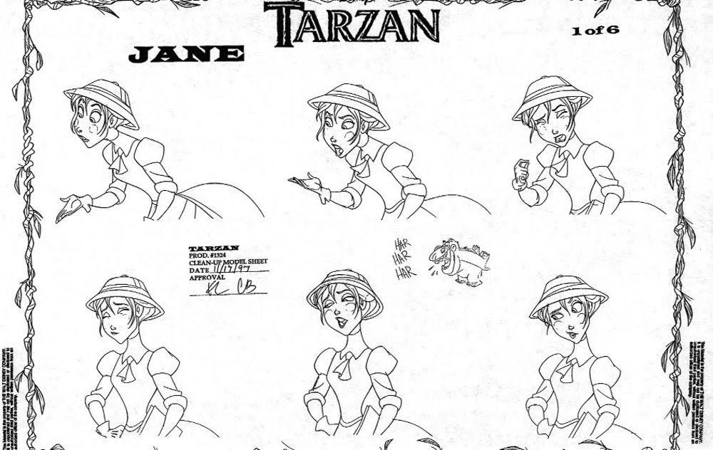 TarzanModelSheet13