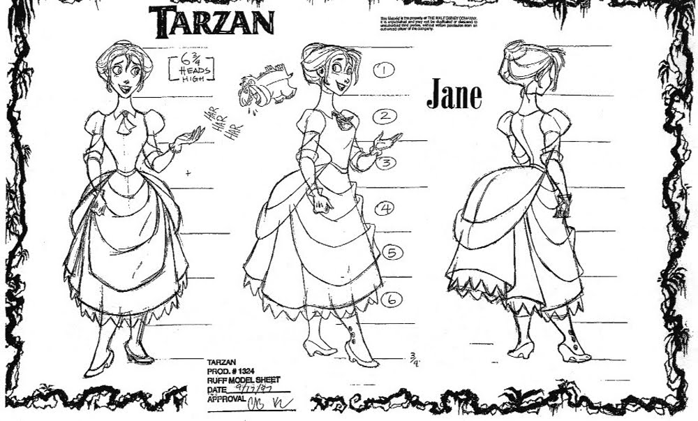 TarzanModelSheet9