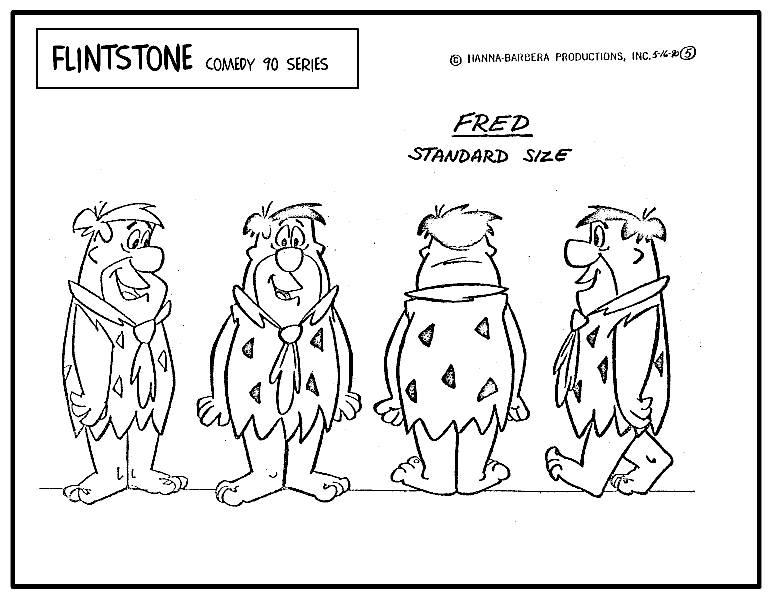 FlintstonesModelSheet1