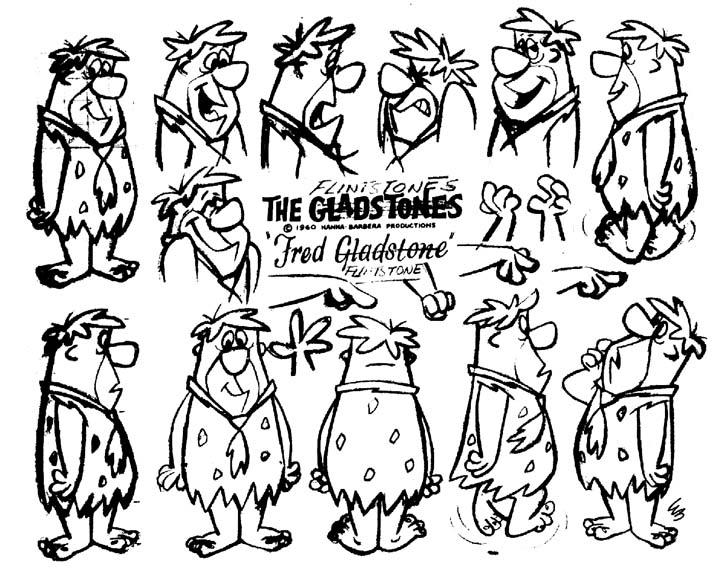FlintstonesModelSheet9