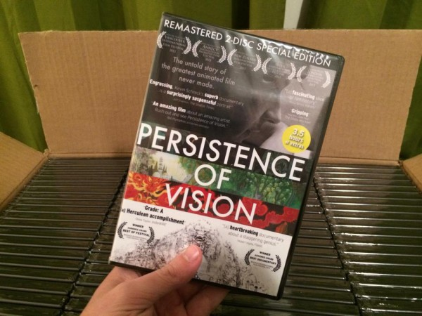 First Batch of Persistence of Vision DVDs