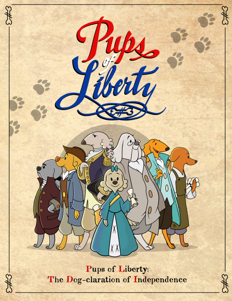 Pups of Liberty Poster