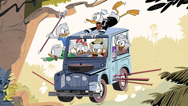 First Image from the New 2017 Ducktales Reboot!