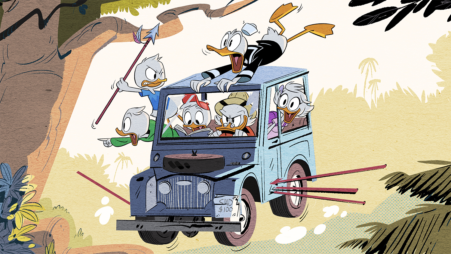 First Ducktales Reboot Image 2017