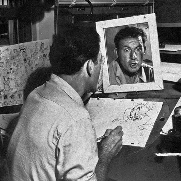 MGM Animator Irv Spence