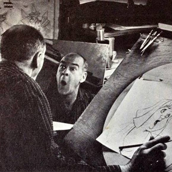 Disney Animator Ollie Johnston