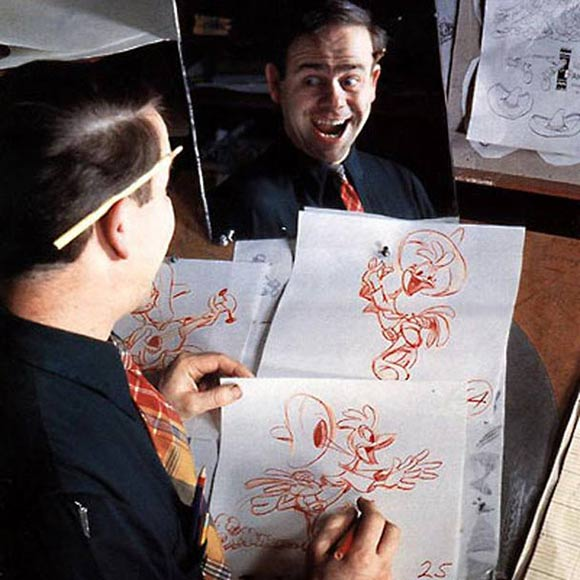 Disney Animator Ward Kimball