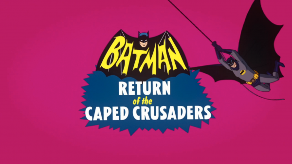 Batman: Return of the Caped Crusaders Logo