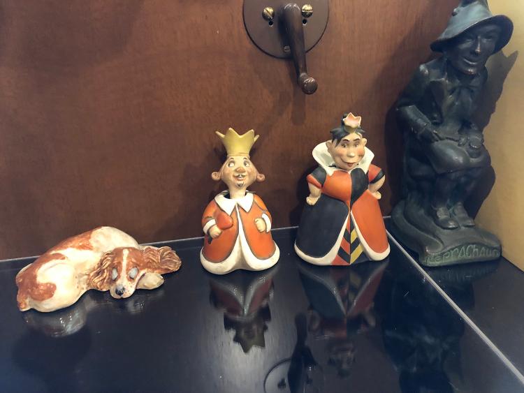 Walt's Desk Statuettes
