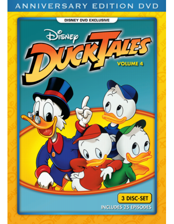 Ducktales - Volume 4 DVD