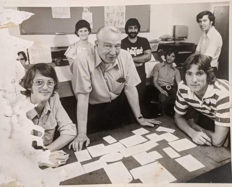Eric Larson's animation training group 1978