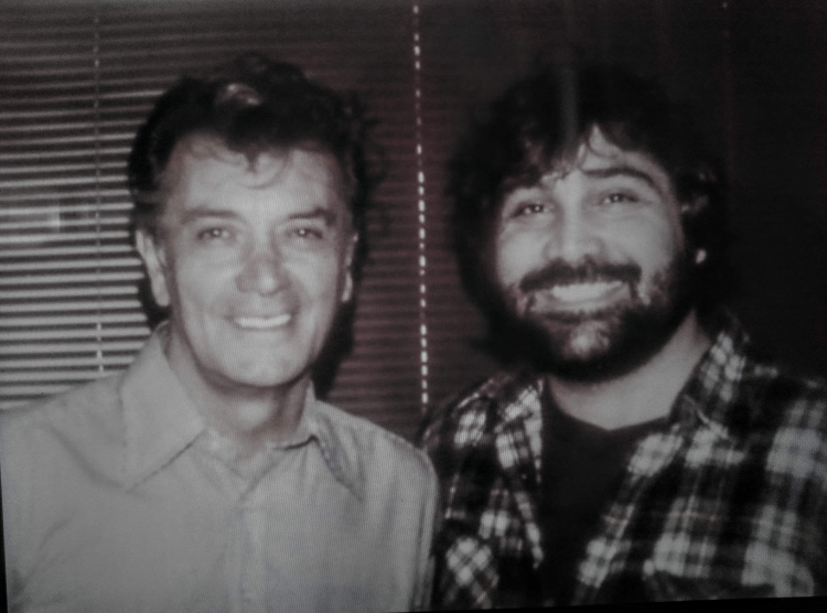 "Working with Frank Frazetta on ""Fire and Ice"" 1981"