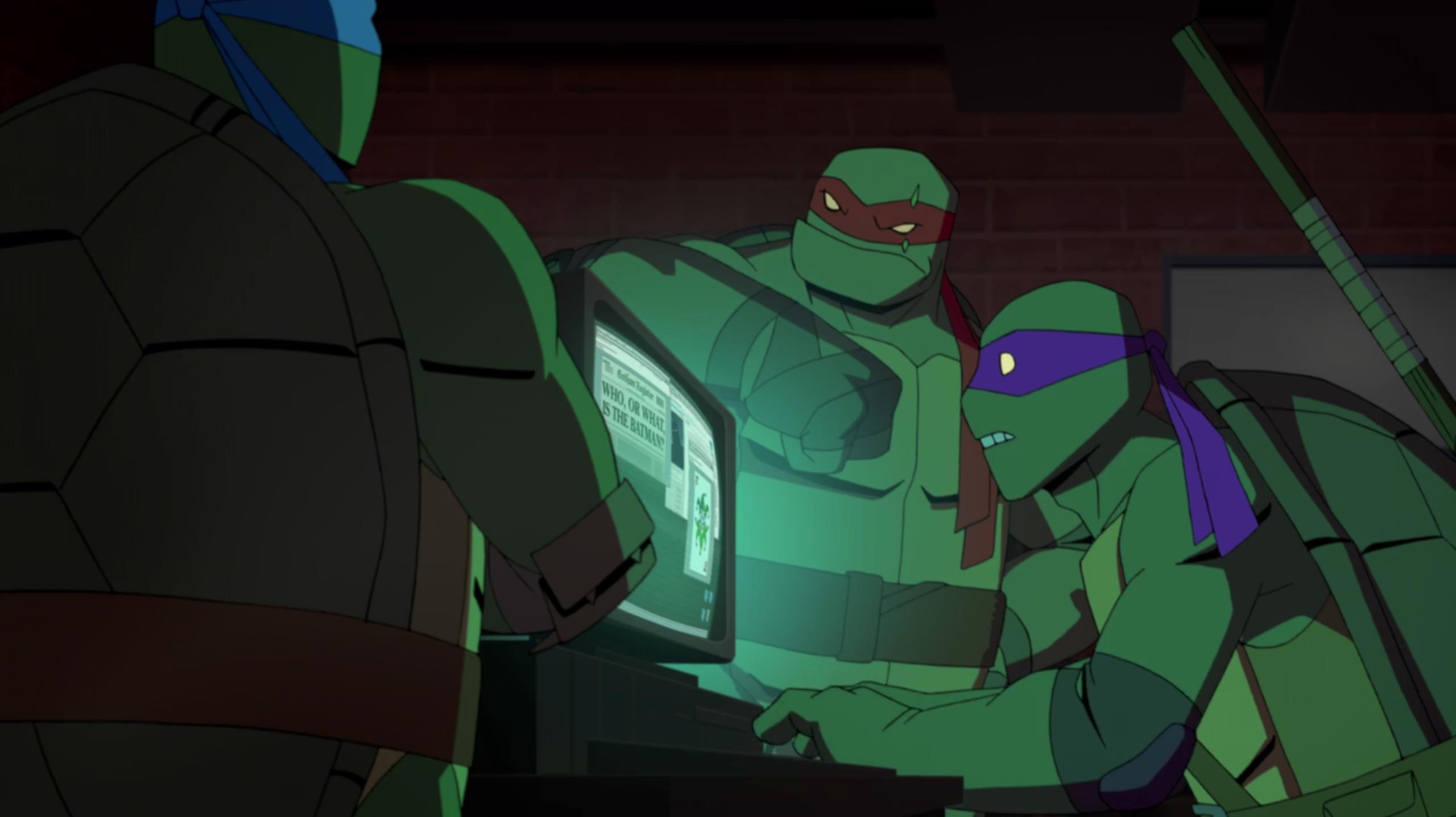 Batman Vs Teenage Mutant Ninja Turtles Traditional Animation