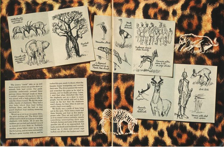 Wonderful World of Disney - Ken Anderson Sketchbook Pg 3 & 4