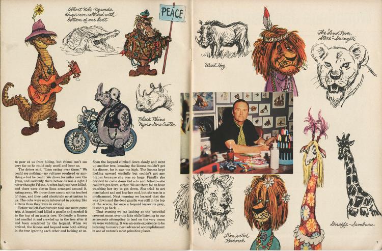 Wonderful World of Disney - Ken Anderson Sketchbook Pg 5 & 6